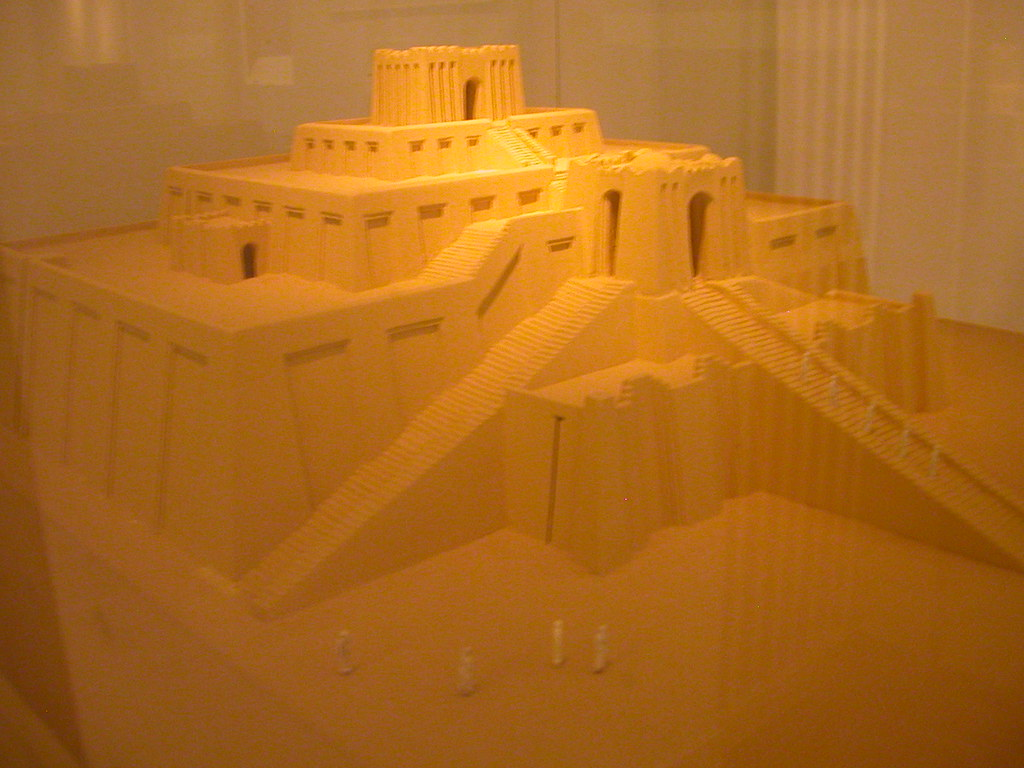 Model Ur Ziggurat
