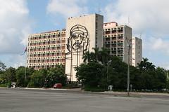 Che am Plaza de la Revolucion