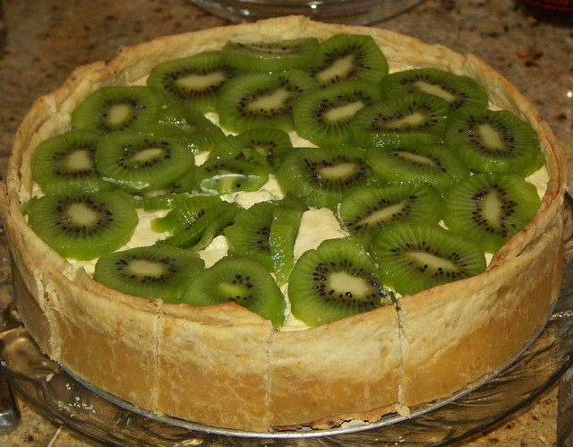 wes' kiwi cheesecake | Flickr - Photo Sharing!