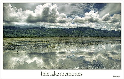 lake water clouds landscapes nikon asia burma myanmar inle luisapuccini