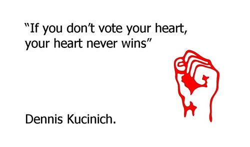 Vote Kucinich