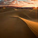 Death Valley Dunes Sunrise by KPieper