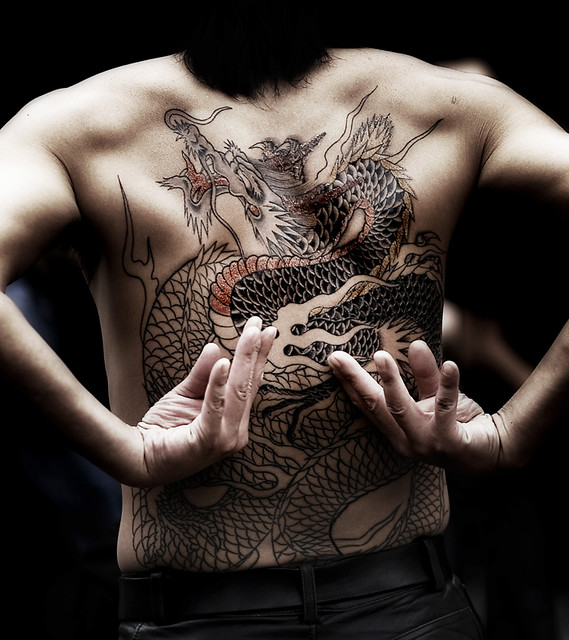 mythical monster - irezumi
