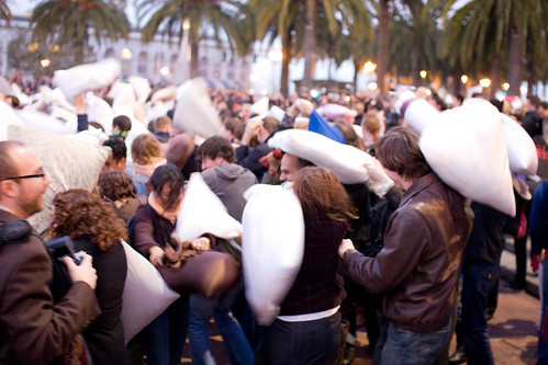 Pillow Fight San Francisco 2008