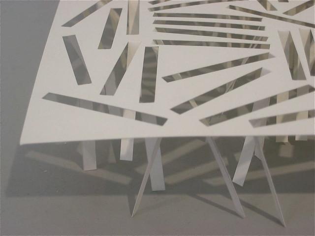 2005/2006 papieren beeld | paper sculpture