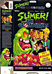 "Ralston :: ""SLIMER AND THE REAL GHOSTBUSTERS""  // ""WIN A $20,000 COLLEGE SCHOLARSHIP-""  i (( 1990 ))"