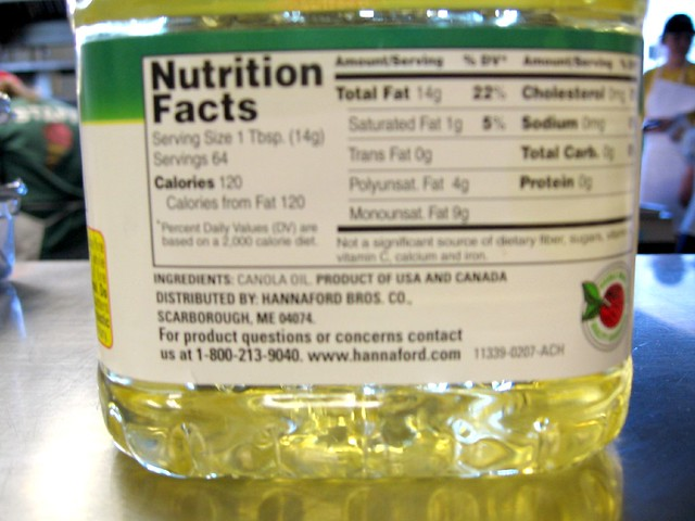 Canola Oil Or Vegetable Oil For Baking A Cake