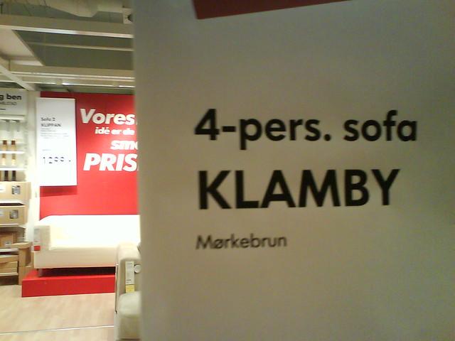 Header of Klam