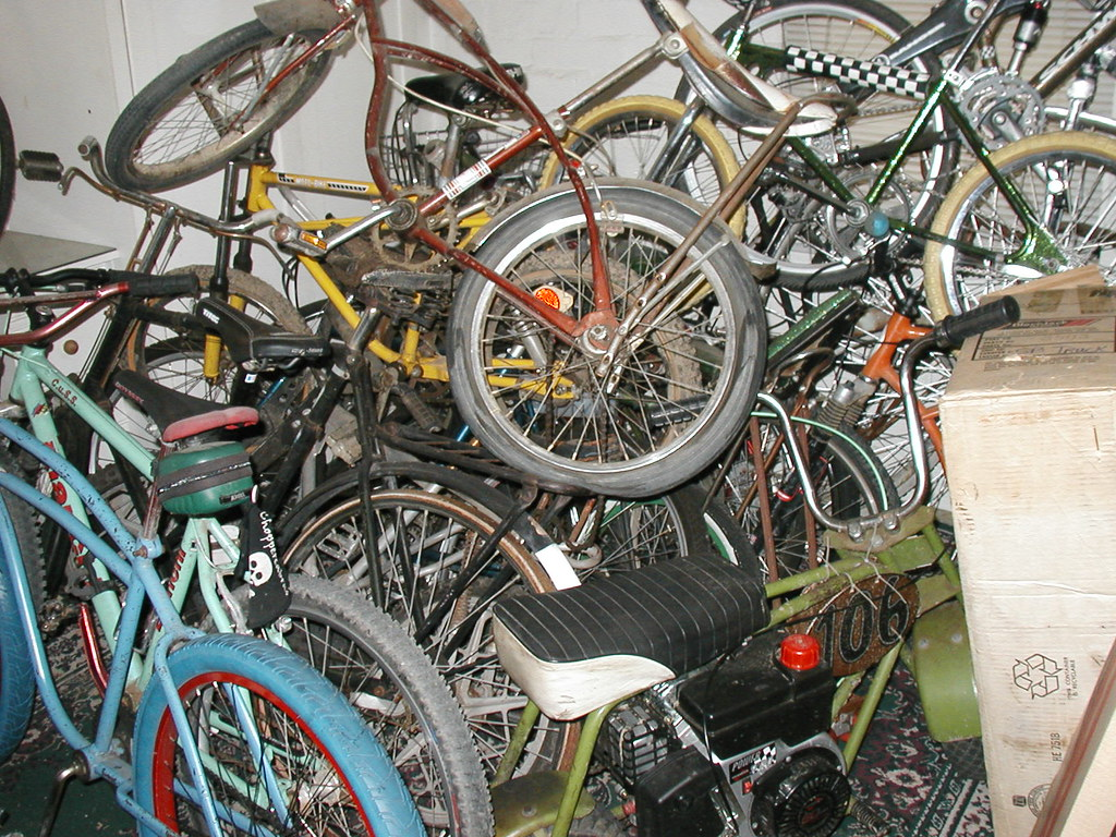 Just one of my bike filled rooms...