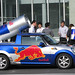 Small photo of Red Bull car.