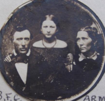 Benjamin Goodwin, Ann Millet, Caroline Goodwin