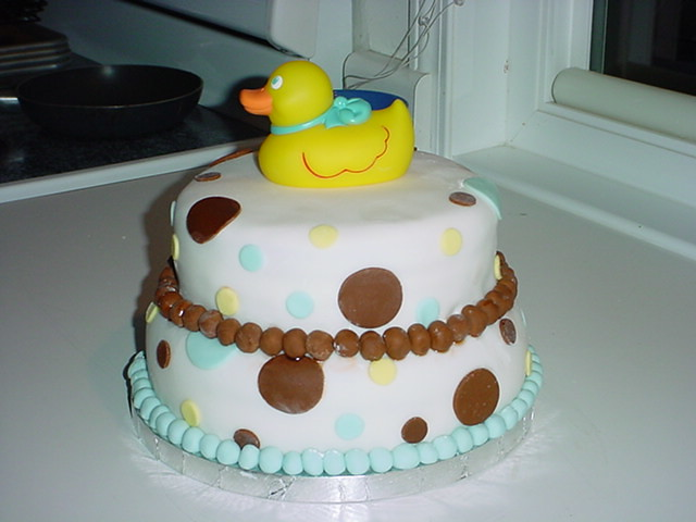Rubber Duck Baby Shower Cakes http://www.flickr.com/photos/graciescakes/1881502213/
