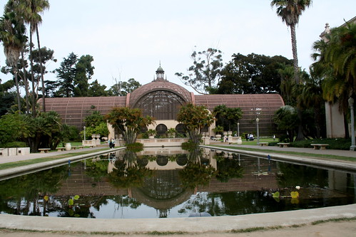 Botanical garden and Lilly pond