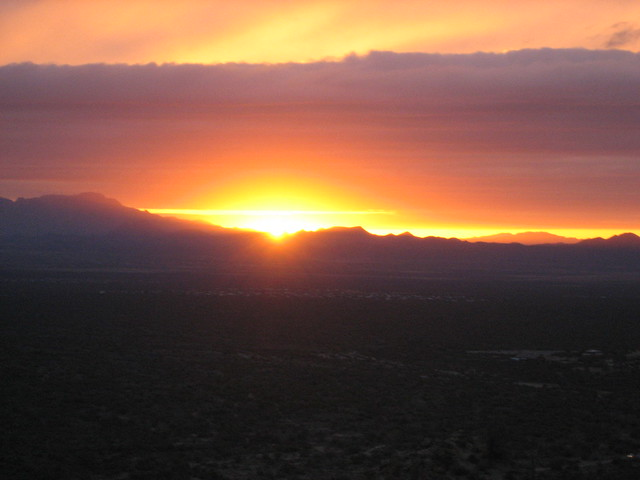 Star Pass Sunset, Tucson