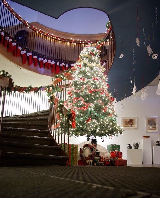 Dining Hall Holiday Decorations Flickr Photo Sharing
