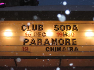 Paramore @ Club Soda In Montreal Quebec [12.16.07]