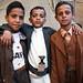 Boys - Sana'a, Yemen by Maciej Dakowicz