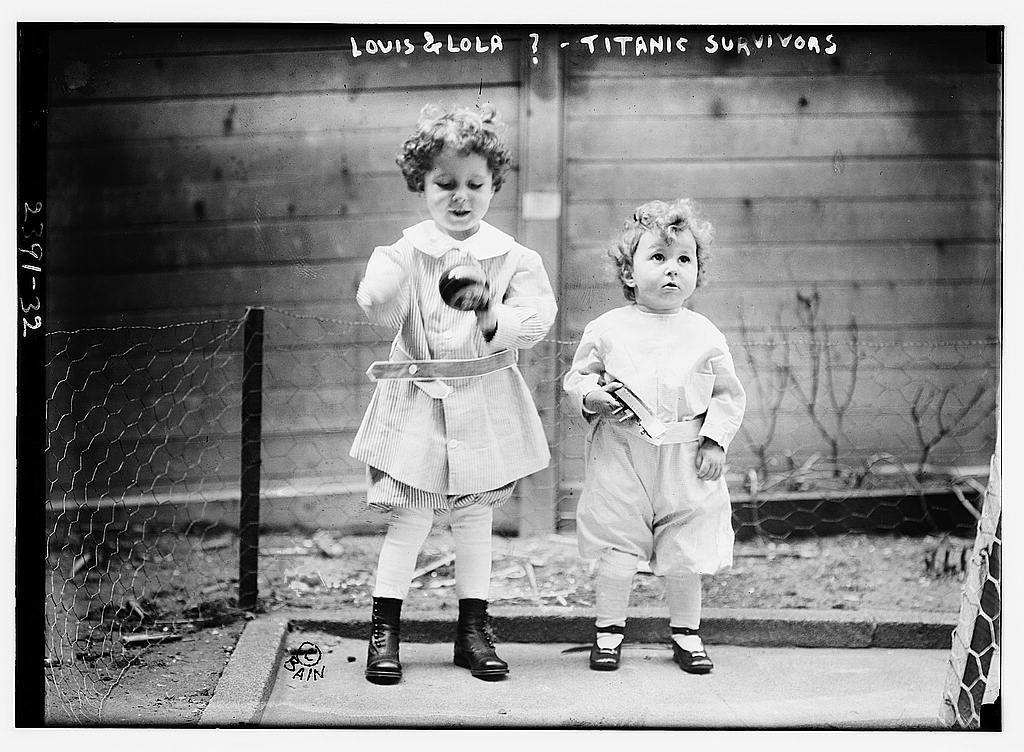 Louis & Lola ?--TITANIC survivors (LOC)