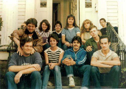 Friends on The Stoop - Labor Day 1983 80s