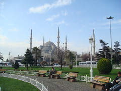 Morning near the Blue Mosque