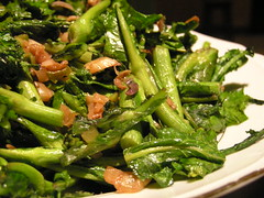 Rapini and Preserved Vegetable