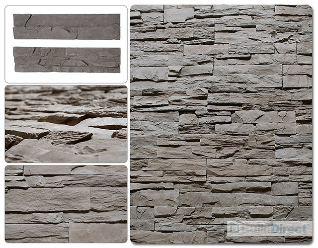 Composite Brick Panels : Faux stone siding composite dark flickr photo sharing