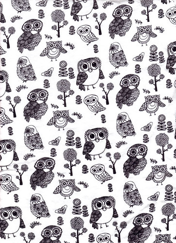 OWL t-shirt pattern