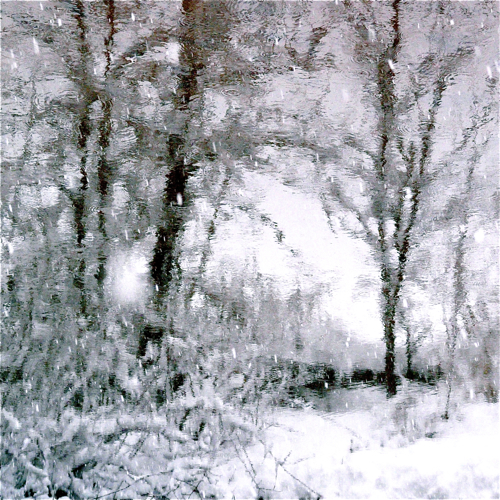 775 776 Snow Flakes On My Wild River…!!! :)))