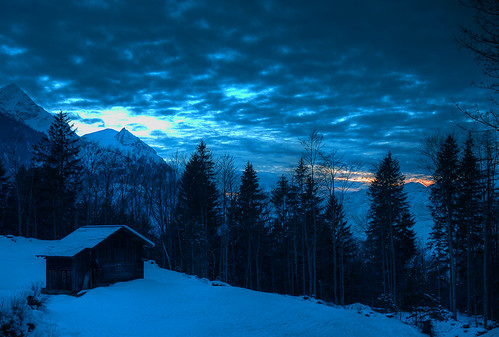 winter sunset snow storm mountains alps night clouds geotagged schweiz switzerland berge moonlight hdr halsiberg