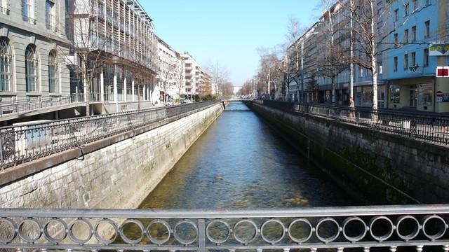 Canal in Biel