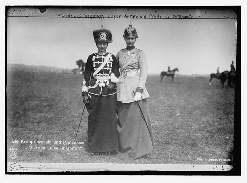 Princess Viktoria Luise and Crown Princess of Germany  (LOC)