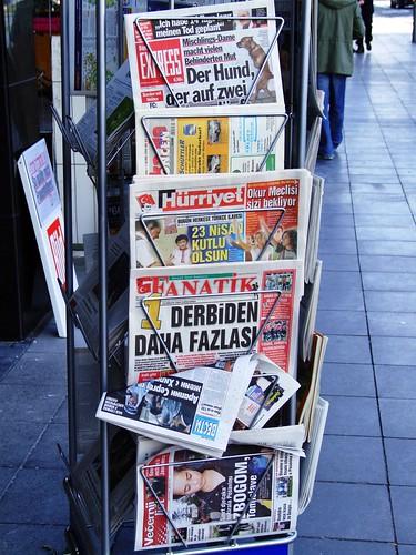 Bonn - international newspapers