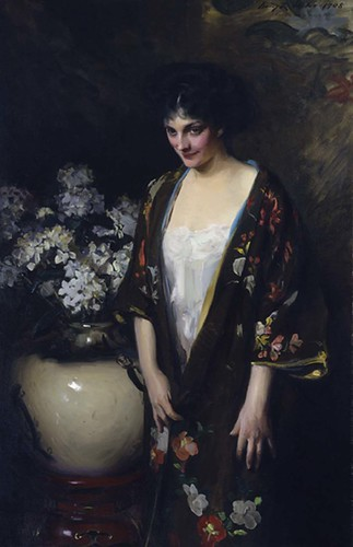 Brown Kimono (Portrait of Kathryn Beta la Forque)