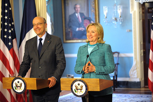 Secretary Clinton and French Foreign Minister Juppe Hold a Joint Press Conference