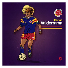 Valderrama - Colombia away