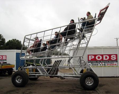 Spluch V8 Powered Shopping Cart