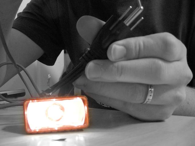 makeshift voltmeter