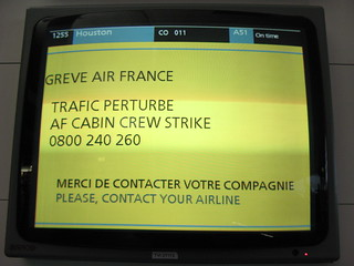Air France Strike - Paris