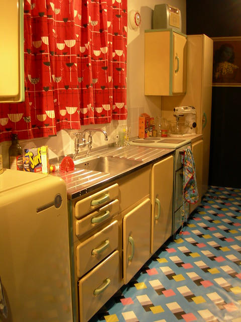 1950s Kitchen Flickr Photo Sharing