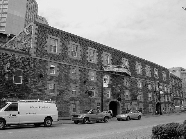 Header of Alexander Keith's Brewery