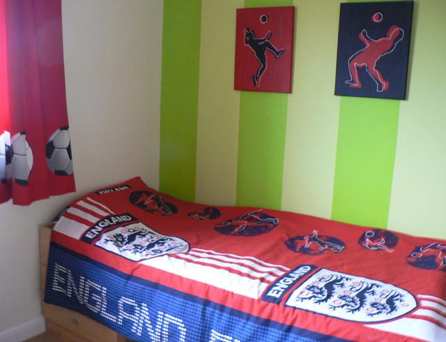 Football themed bedroom flickr photo sharing - Football themed bedrooms ...
