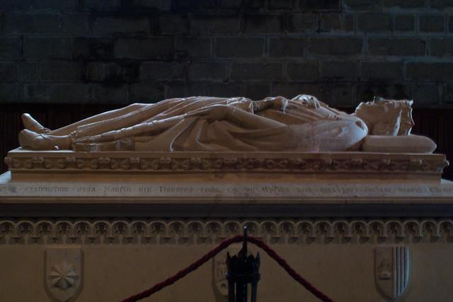 Sanchi viii Navarrae regis.