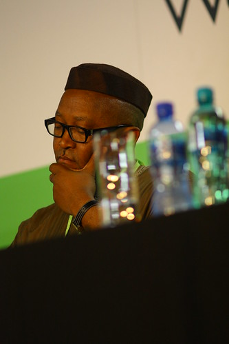 Nkanta George Ufot (Nigeria), panel session, 4th World Summit on Arts & Culture