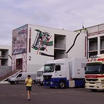 Ladies, paddock and trucks, circuit de Nevers Magny-Cours
