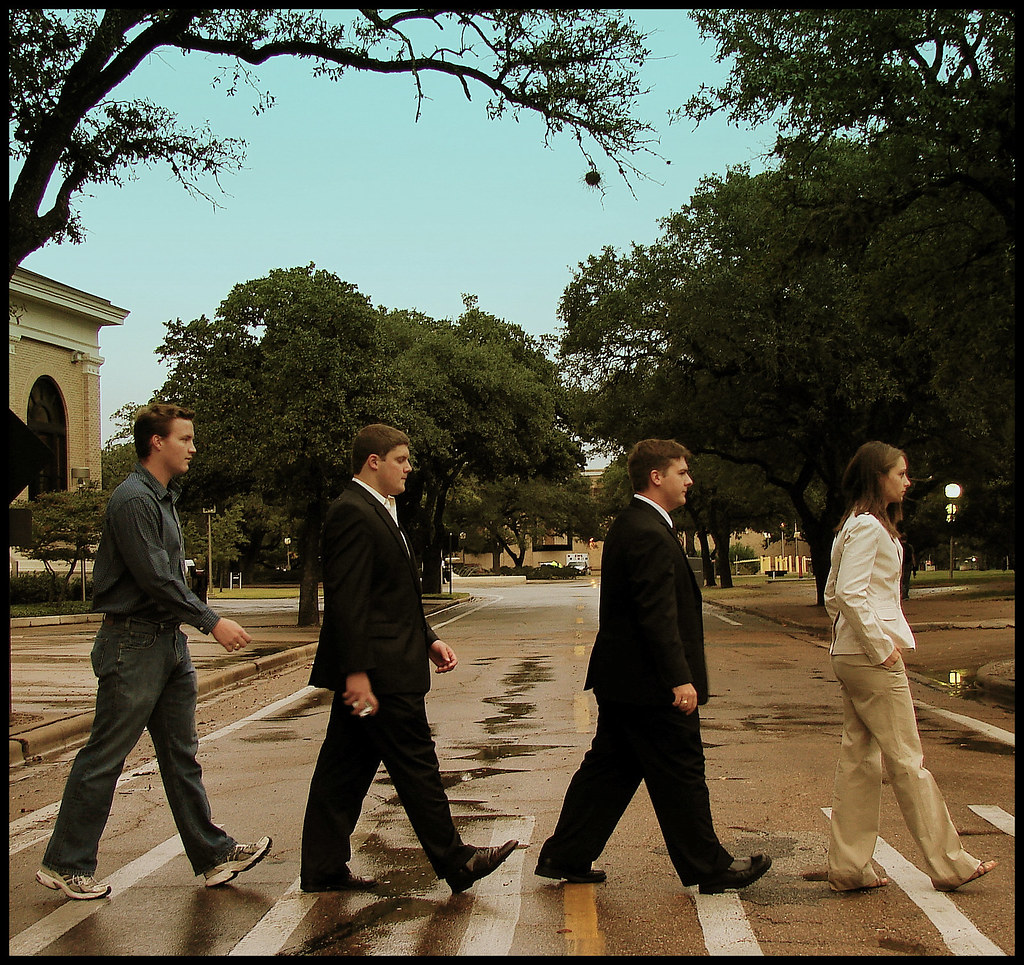 Houston Street Meets Abbey Road