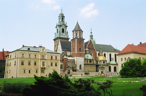 The magnificent Wawel Castle.