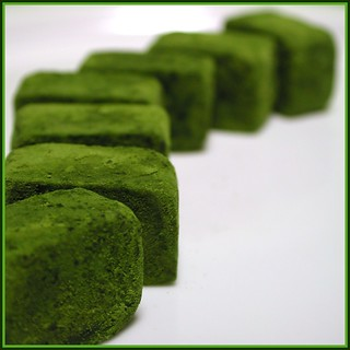 fresh matcha chocolate