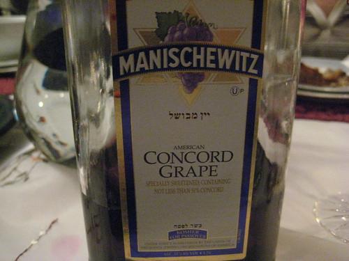 Manischewitz!