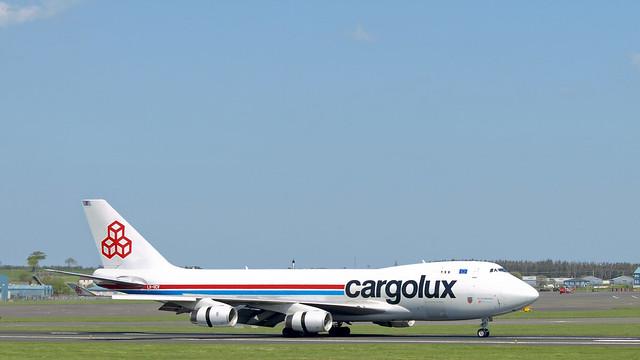 Cargolux B747F LX-VCV