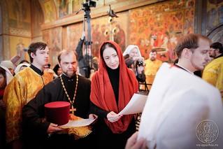 Литургия в Софийском соборе 480